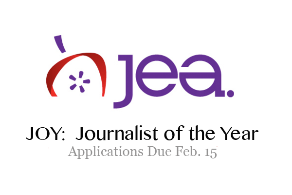 2021 JEA Journalist of the Year entries due Feb. 15